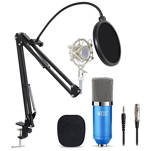 Tonor Pro Condenser Pc Microphone Kit With 3 5mm Xlr Mic